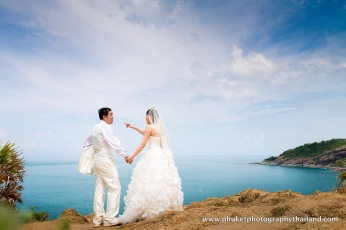 pre wedding at prom thep cape,phuket,thailand