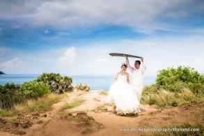 pre wedding at prom thep cape,phuket,thailand