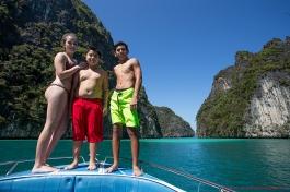 family photography at phi phi island,krabi,thailand