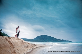 couple at indigo pearl,phuket