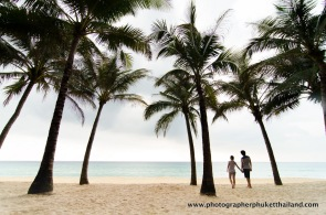 couple at , surin beach,phuket , Thailand