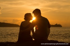 couple at kalim beach , phuket , thailand-039