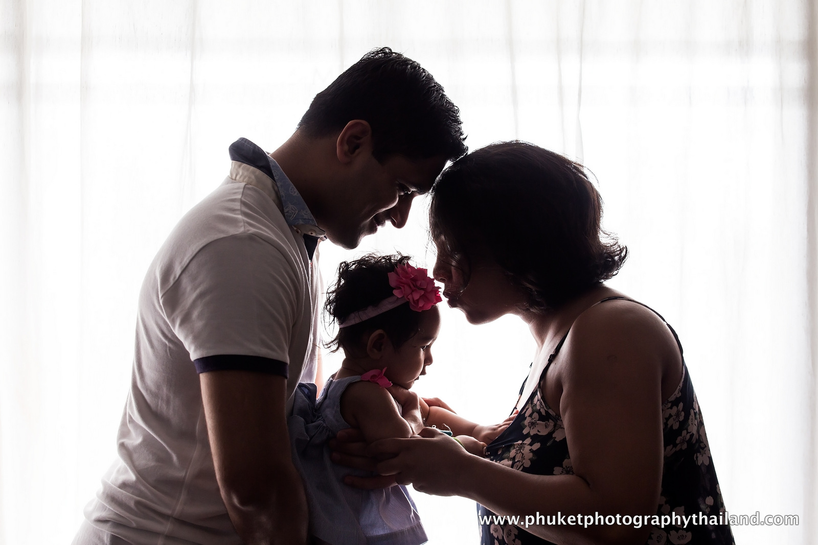 family photography at le meridien phuket thailand