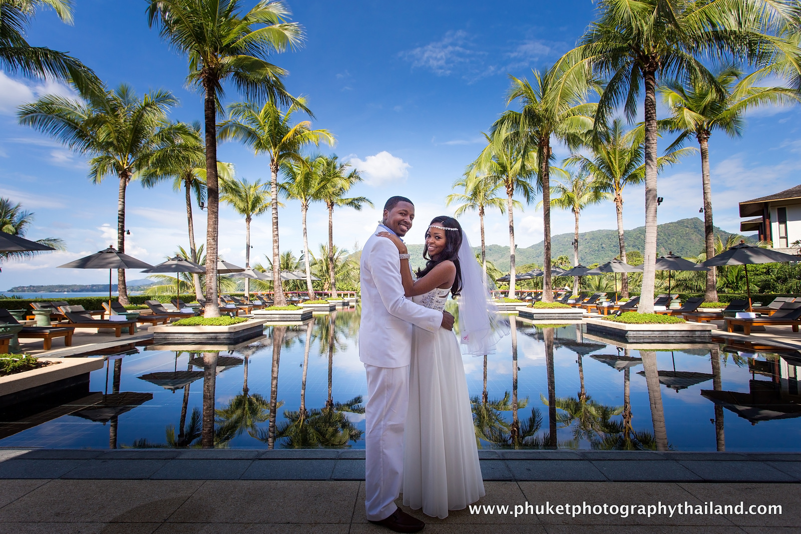 wedding photo session at phuket thailand