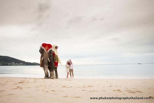 engagement , wedding photography at kamala beach , phuket