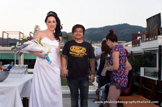 Deno & Megan wedding at patong beach , phuket-090