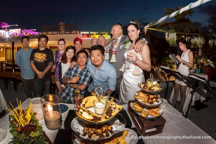 Deno & Megan wedding at patong beach , phuket-158