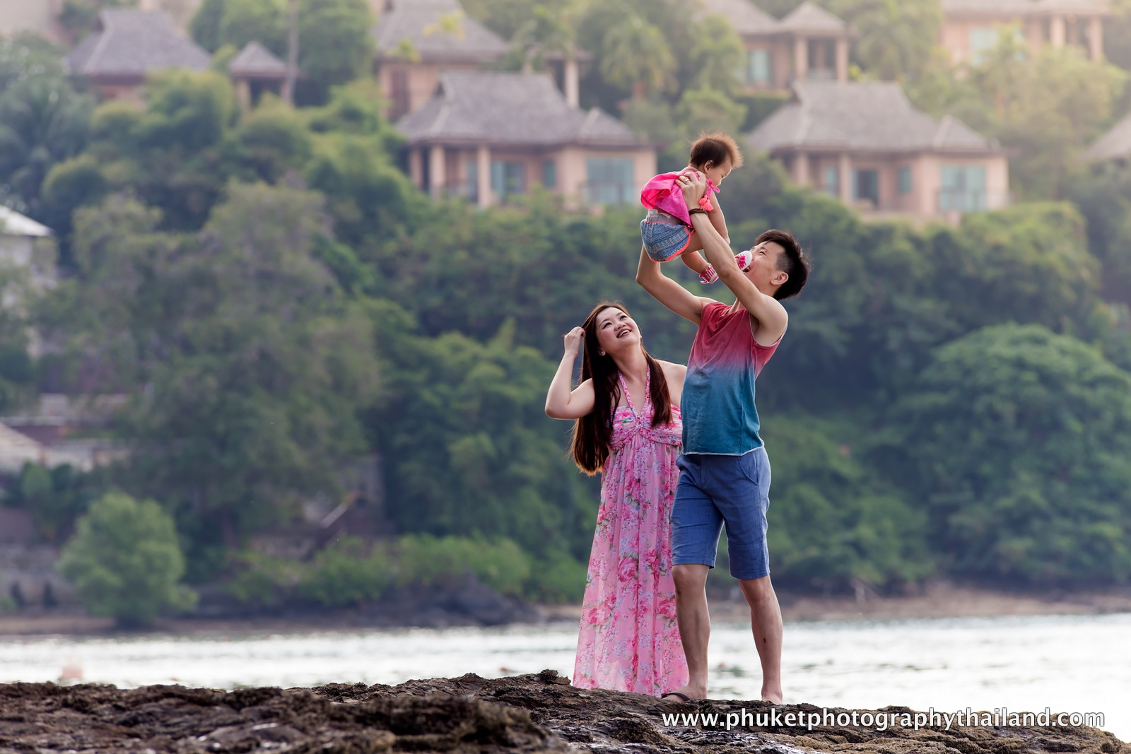 Family photoshoot at Westin resort & spa , phuket