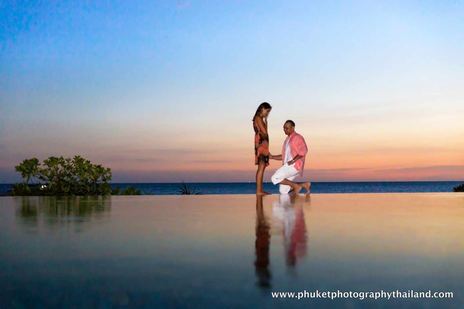 marriage proposal photoshoot at  at The Naka , phuket , thailand