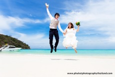 pre wedding photography at ko Racha yai island , phuket , thailand