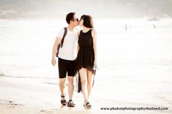 couple photography at patong beach , phuket