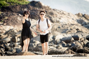 couple photography at patong beach , phuket