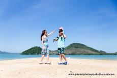 family photography at phang nga , thailand