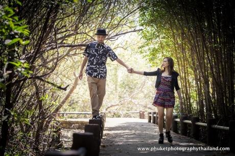 pre-wedding photography at phuket , thailand