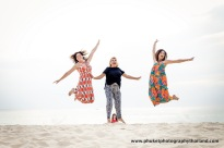 family photoshoot at kata noi beach , phuket