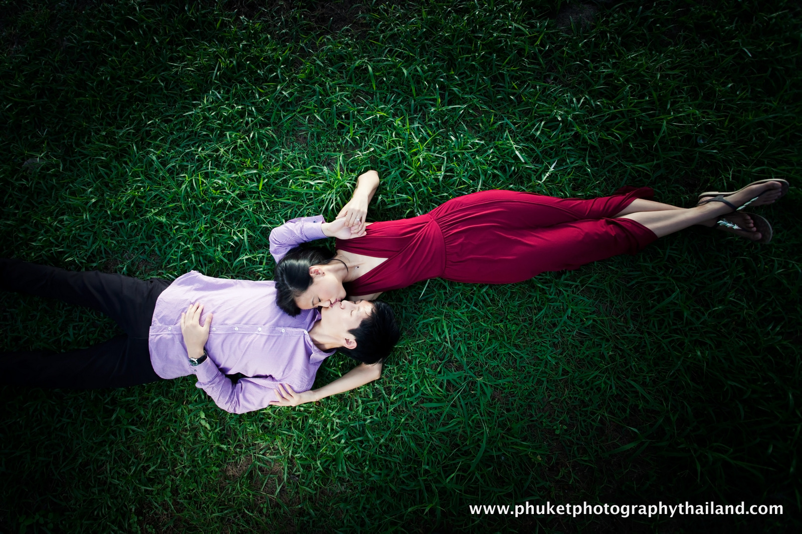 engagement photoshoot at national park phuket