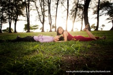 honeymoon photoshoot at naiyang phuket