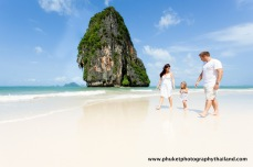 family photoshoot at Railay , krabi