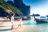 Honeymoon photography at Phi Phi