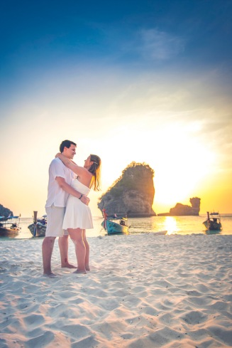 Honeymoon photography at Phi Phi Krabi Thailand