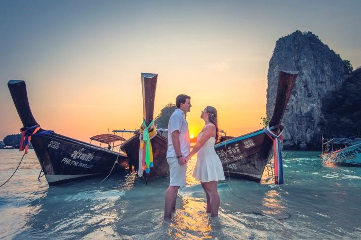 Honeymoon photography at Phi Phi Krabi Thailand