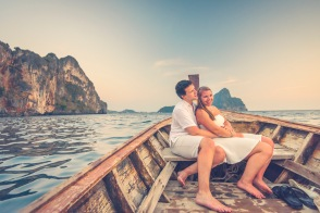 Honeymoon photography at Phi Phi