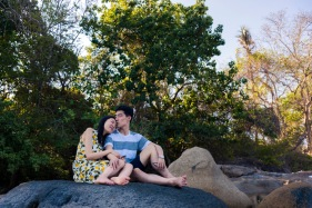 Honeymoon photo session at Lamka phuket thailand