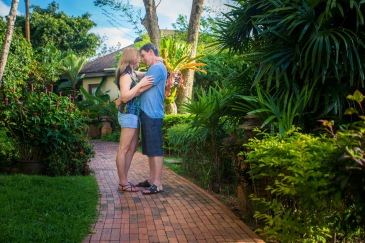honeymoon photoshoot at mango steen resort phuket