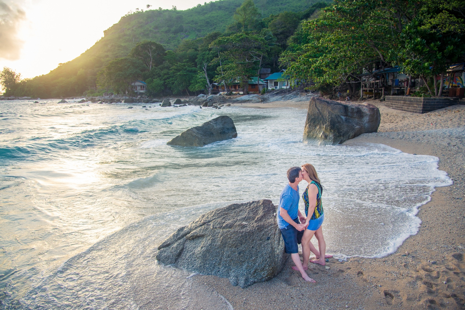honeymoon photoshoot at  phuket