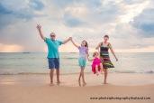 family photo session at naithon beach Phuket