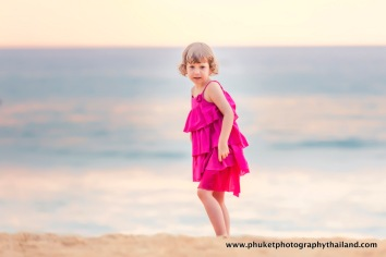 family photo session at naithon beach Phuket