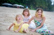 family photoshoot at Kamala beach Phuket thailand