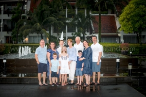 family reunion photoshoot at khao lak Phang nga Thailand